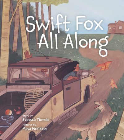 Swift Fox All Along by Rebecca Thomas book cover