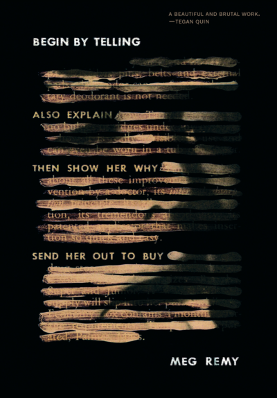 Begin By Telling book cover